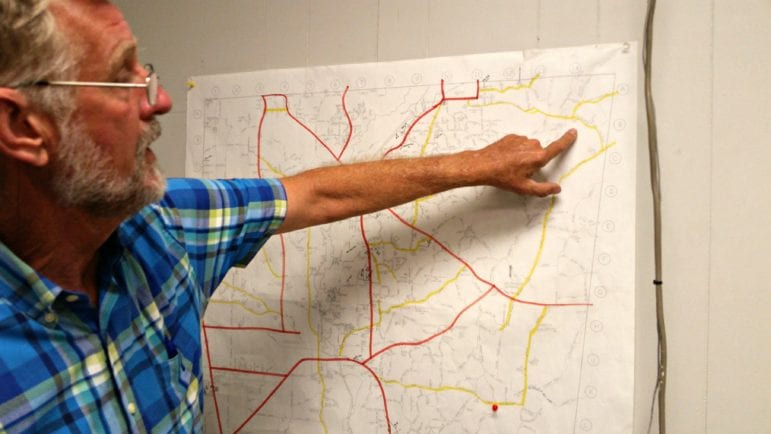 Sonny Clay discusses Monroe County state aid roads