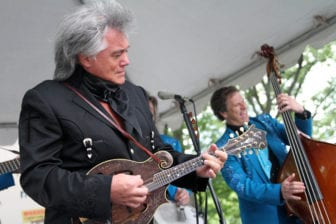 Marty Stuart, left, and His Fabulous Superlatives perform at the 35th Annual Mississippi Picnic in New York's Central Park June 14, 2014.