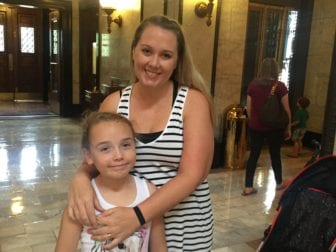 Nicole and Bella Nichols, residents of Rankin County, visited the State Capitol on Tuesday to raise awareness about Medicaid coverage of diabetes supplies.