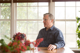 "William ""Bill"" Ferris inside the home where he grew up in Warren County"