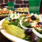 Fresh salads of all varieties are available at Soulshine Pizza Factory.