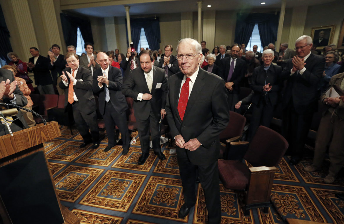 'We will take it from here': Homily in memory of former Gov. William Winter