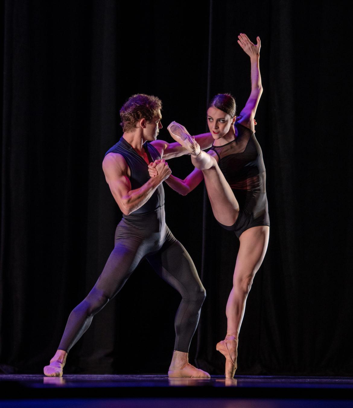USA IBC ballet performer Katherine Barkman