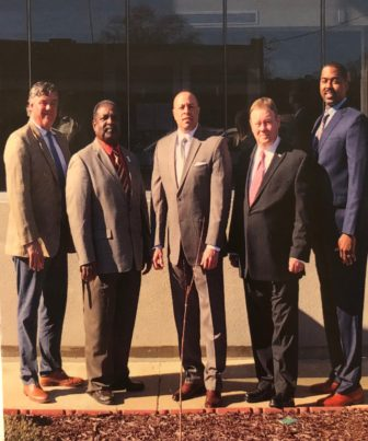 Ken Murphy, Ed Seals, Chuck Espy, Bo Plunk, and Willie Turner, Jr.