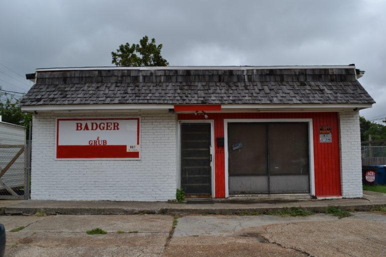 Badger Grub restaurant in Clarksdale.