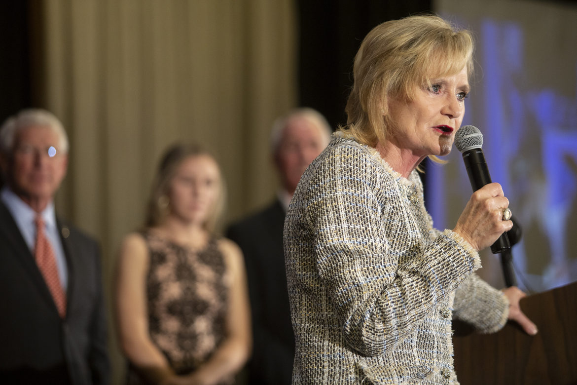 Hyde-Smith, indebted to Trump and facing re-election, pledges POTUS her unwavering support