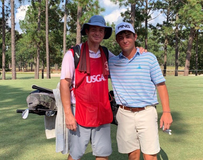 Spencer Tibbits advances at to match play at U.S. Amateur