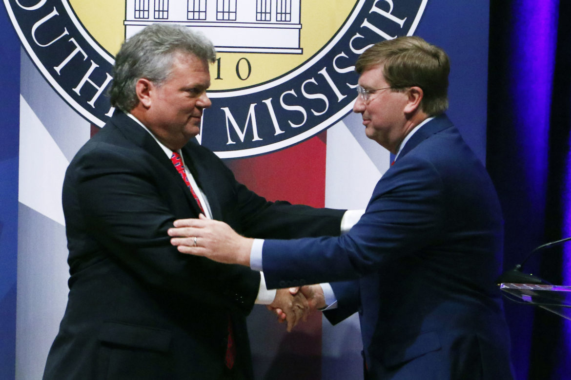 In fiery first debate, Jim Hood and Tate Reeves weave in policy proposals, but personal attacks take center stage
