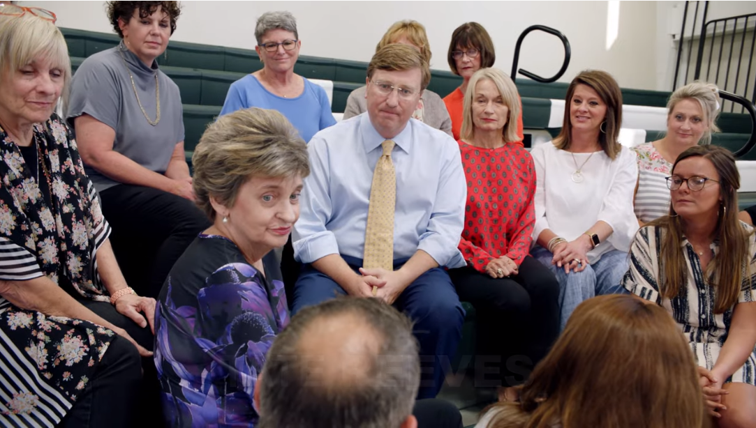 Reeves ad touting teacher pay raises filmed at private school, features private school teachers