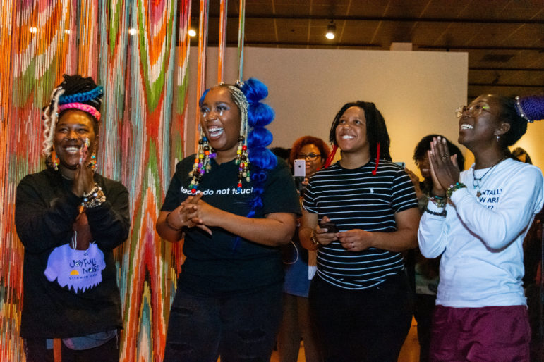 'Beyond the Cave': Artists' response to Nick Cave exhibit draws a new audience to Museum of Art | Mississippi Today