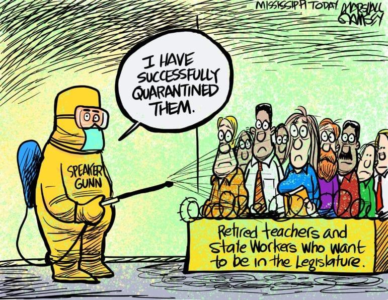 marshall ramsey  political quarantine
