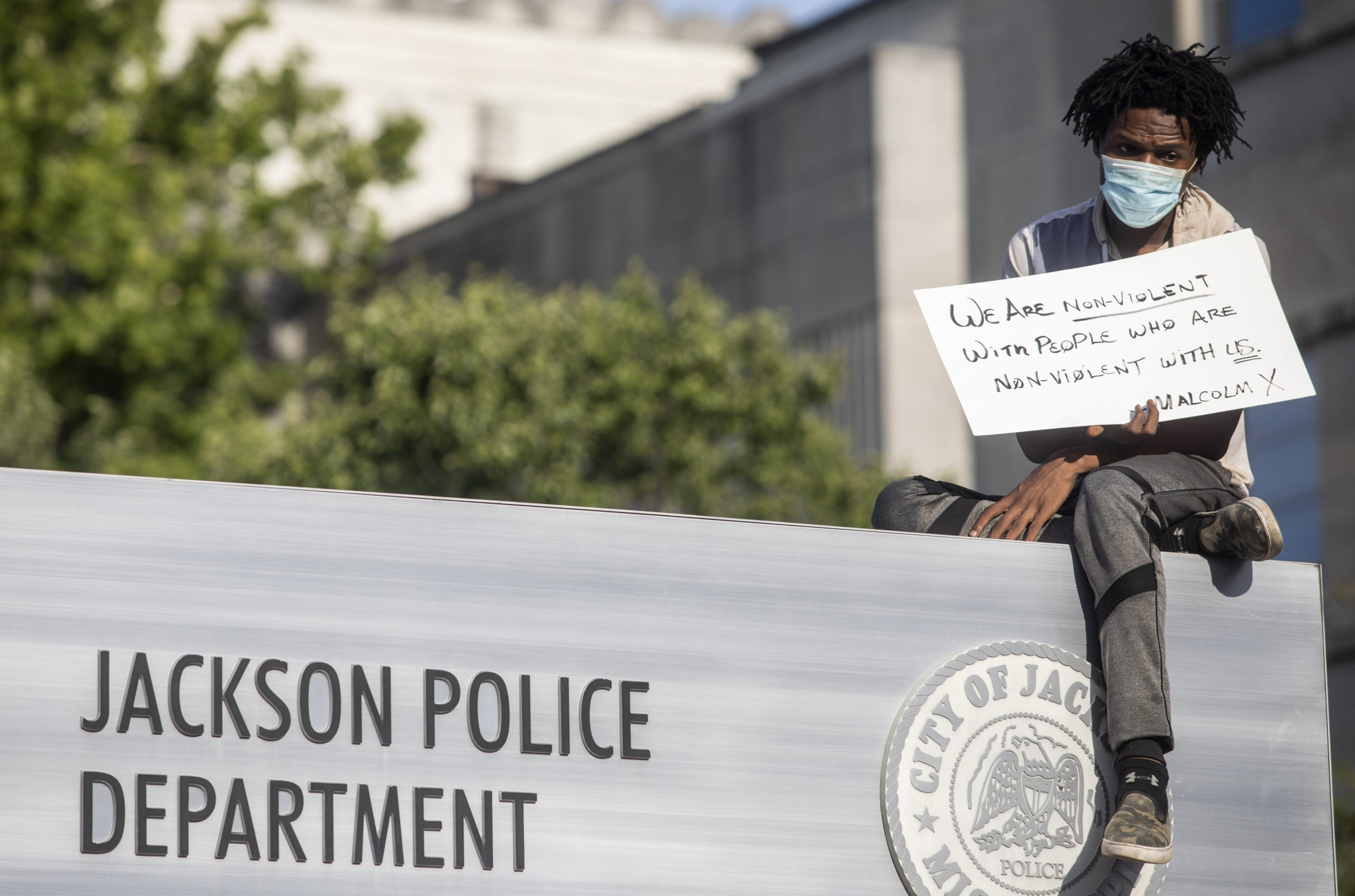 Jackson Protest: 'We are tired of black lives being taken by police officers'