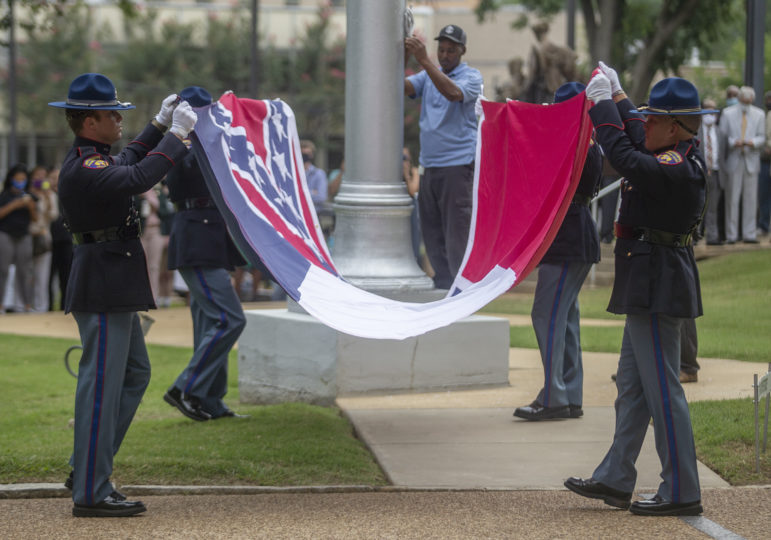 MS governor signs bill removing Confederate symbol from flag