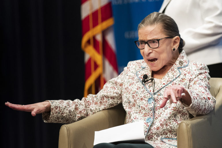 One of Ruth Bader Ginsburg's favorite cases originated in Mississippi